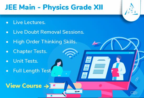 JEE Main - Physics Grade XII